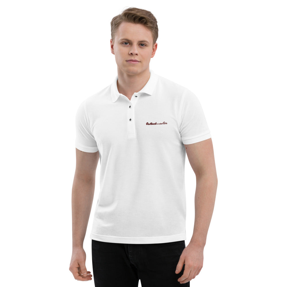 Outback Creative Men's Premium Polo - Outback Creative Gifts