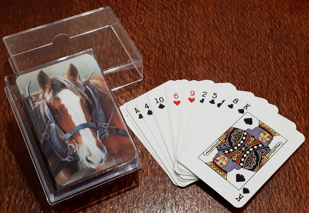Playing Cards - Clydesdale - Outback Creative Gifts