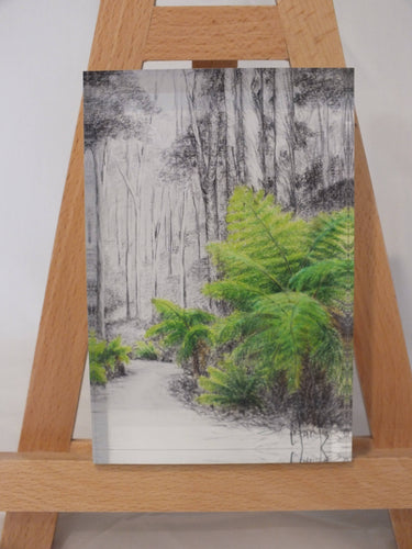 Crystal Block - 'Otway Treefern' - Outback Creative Gifts