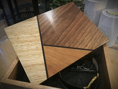 Geometric Keepsake Box - Outback Creative Gifts