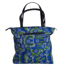 Load image into Gallery viewer, Sacred Country Blue Handbag - Outback Creative Gifts