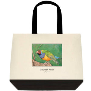 Gouldian Finch Tote - Outback Creative Gifts