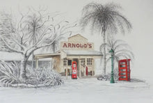 Load image into Gallery viewer, Matted Print - 'Heritage - Arnold's Store' - Outback Creative Gifts
