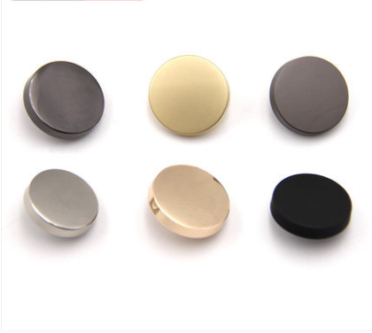 Flat Metal Shirt Button