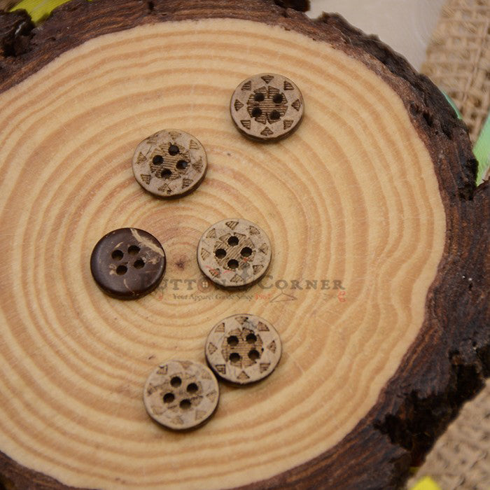 Coconut Shirt Button CB010