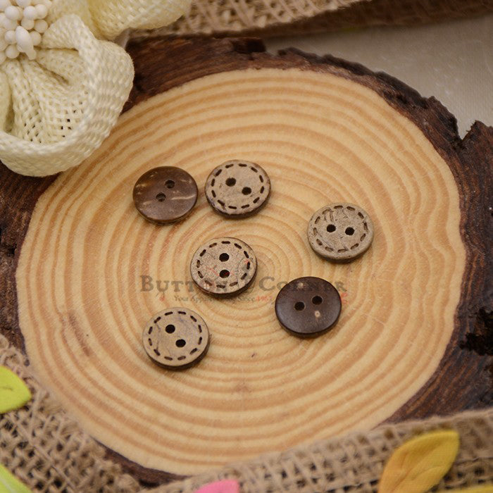 Coconut Shirt Button CB019