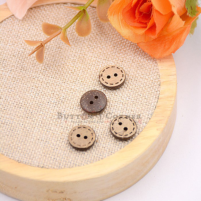 Coconut Shirt Button CB09316