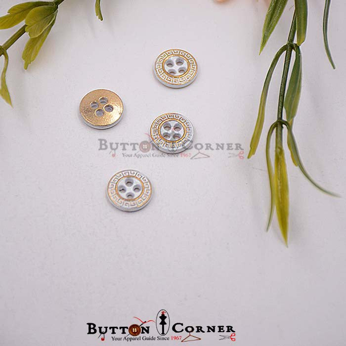 Metal Shirt Button MBA1637