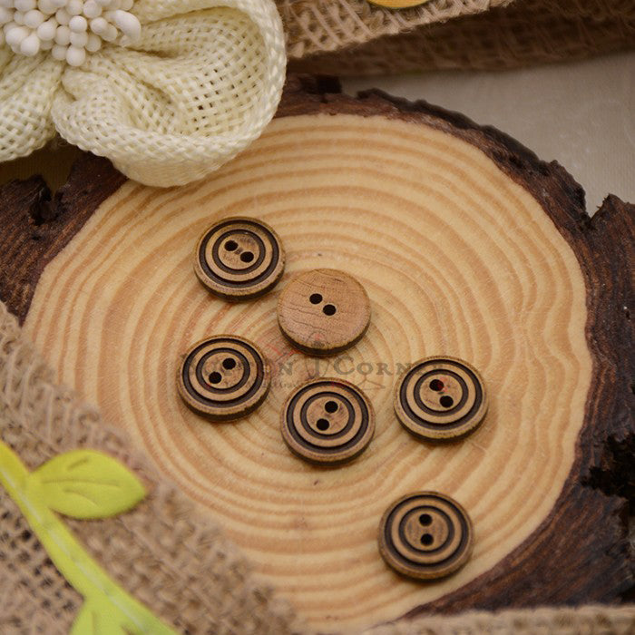 Wooden Suiting Button WB101