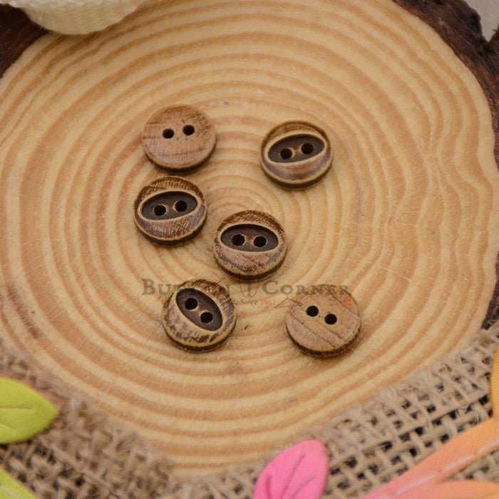 Wooden Suiting Button WB108