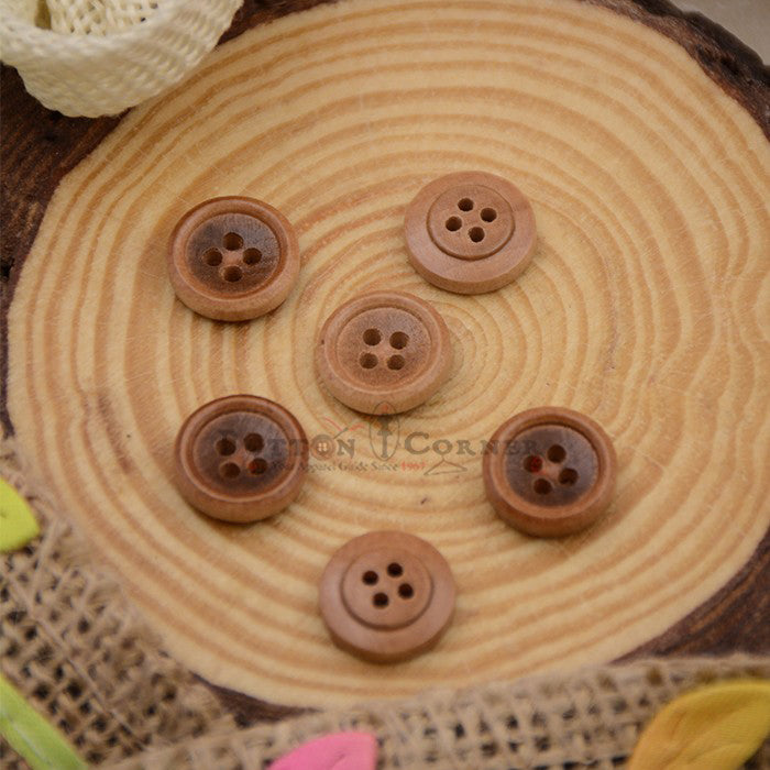 Wooden Suiting Button WB109