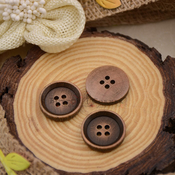 Wooden Suiting Button WB11032