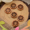 Wooden Waiscoat Button WB11524