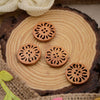 Wooden Waiscoat Button WB11628