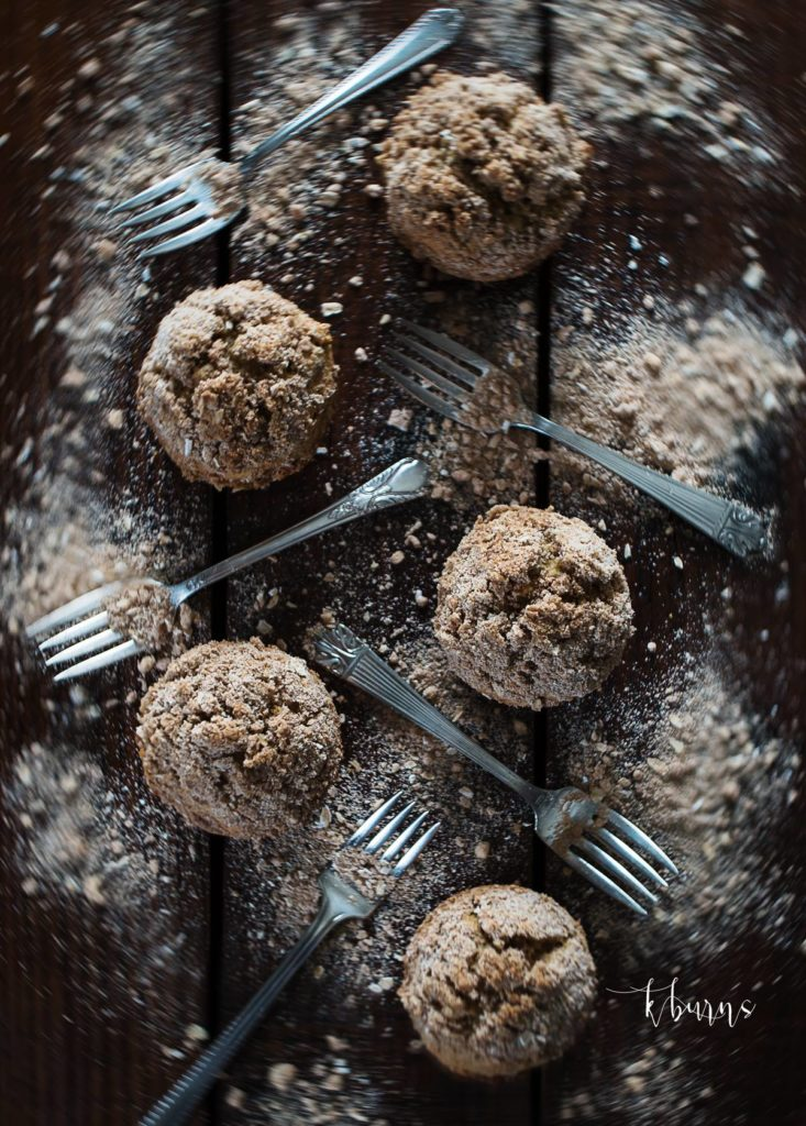 Muffins and forks