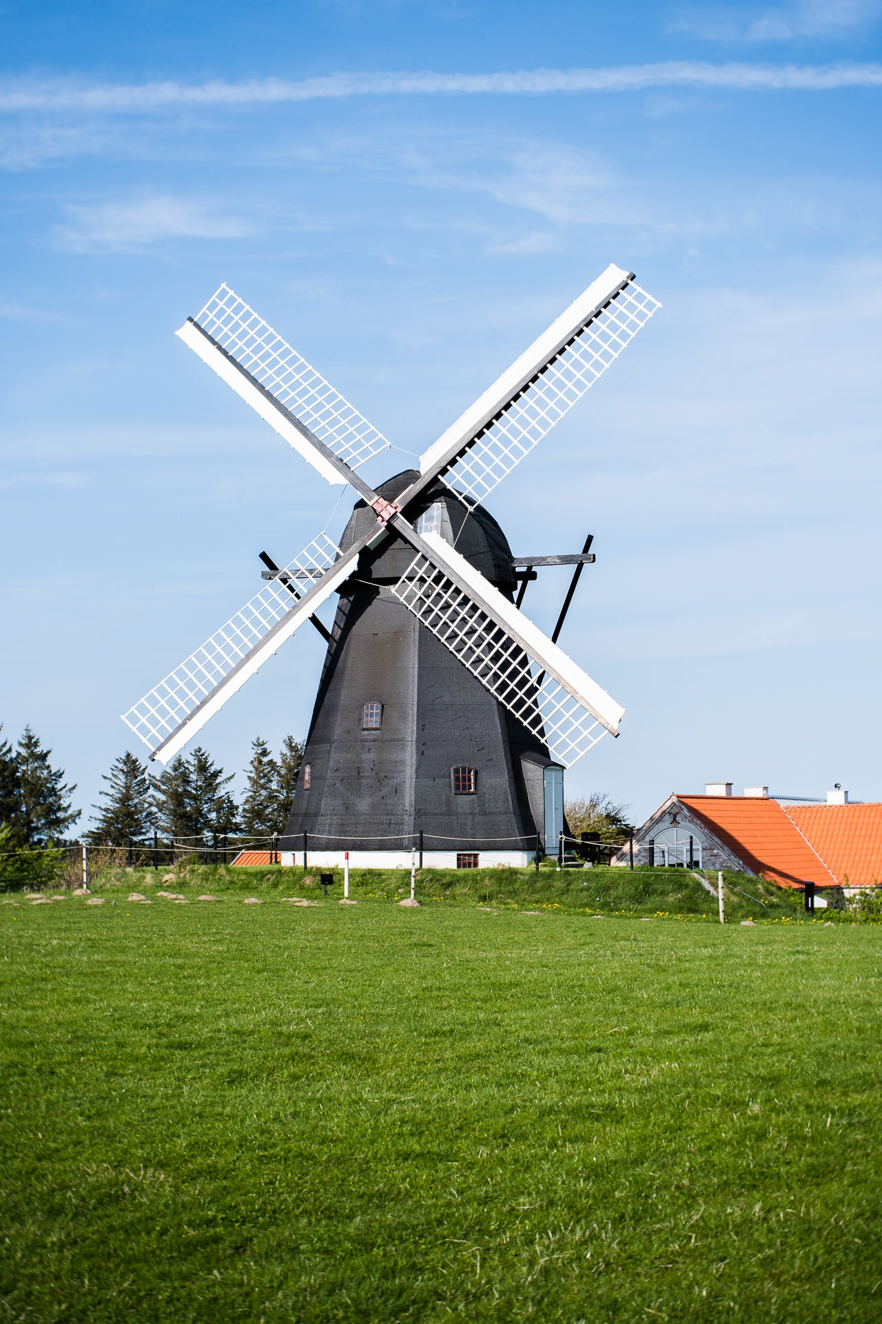 windmill norway countryside grass blue sky Traveling Burnside Project Birgit Fostervold Burnside