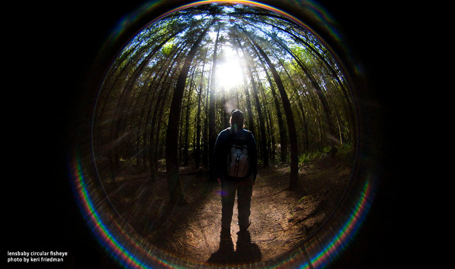 Circular Fisheye Lens by Lensbaby Forest Perspectives