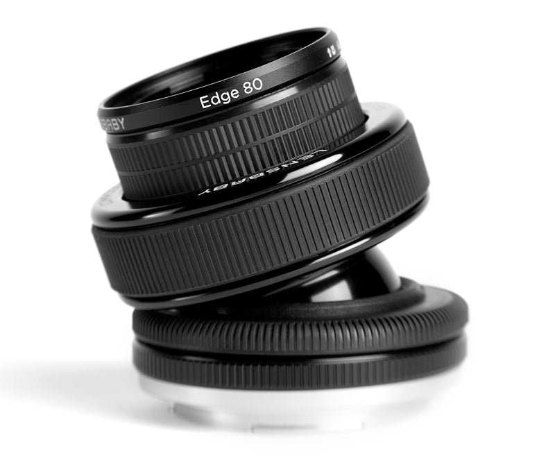 Lensbaby Composer Pro II with Edge 80 Optic close up image for tilt shift effect photography.