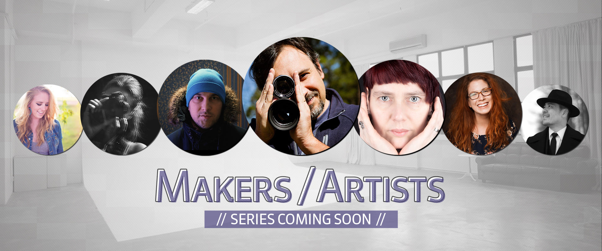 Portraits in bubbles Makers Artists series coming soon Lensbaby Stephanie DeFranco Lesnbaby Makers