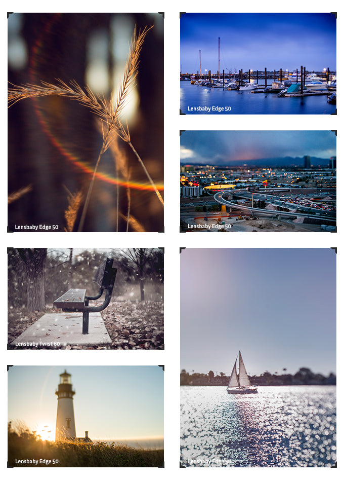 photo collage lensbaby creative effect lenses stephanie defranco lensbaby makers