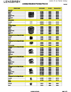 Lensbaby Education Price List_tn