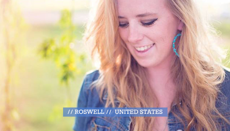 portrait blond woman roswell united states stephanie defranco lensbaby makers