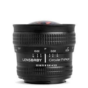 (Refurbished) Circular Fisheye - Lensbaby Creative Effect Camera Lenses