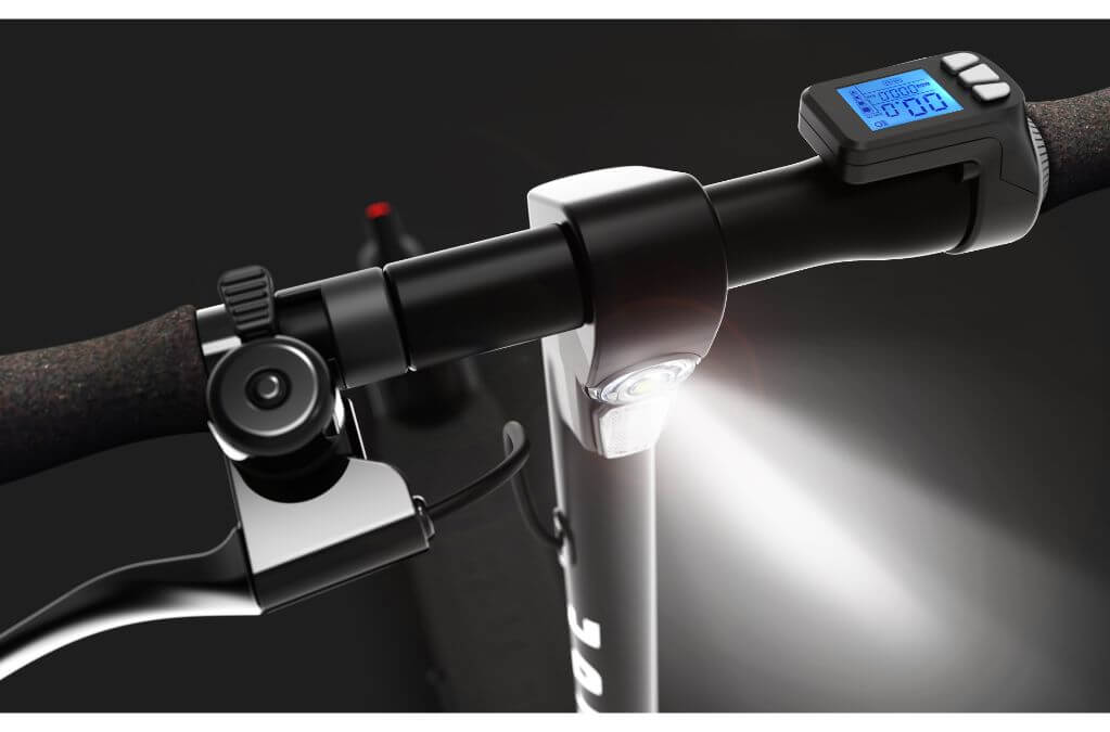 Pure Air Pro Electric Scooter Light & Display