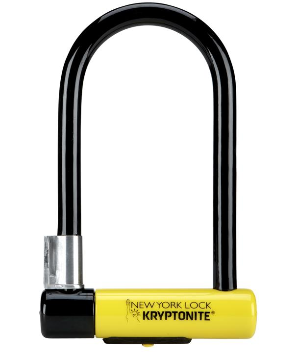 Kryptonite New York Standard NYL Lock With Flexframe Bracket