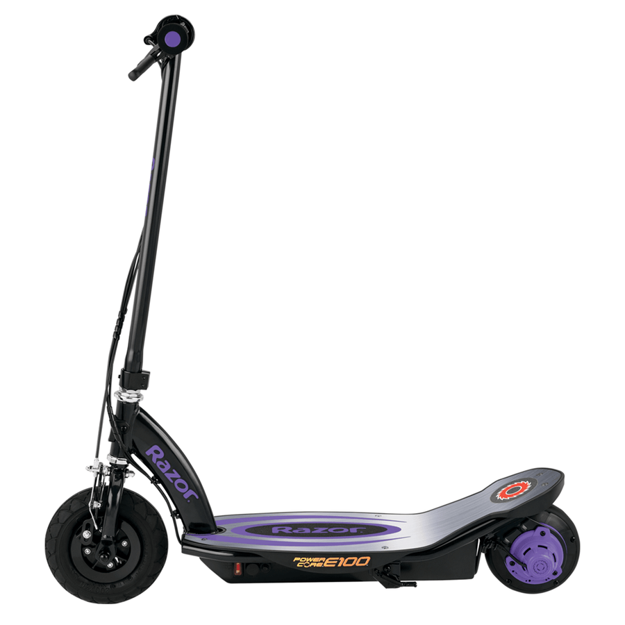 Razor E100 Purple Kids Electric Scooter