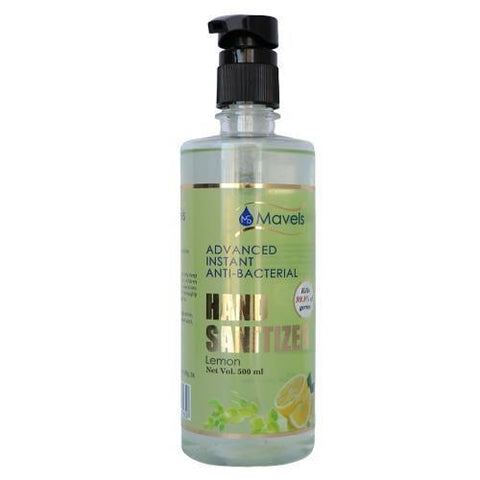 2 Leslico Reusable with 500ml Gel Based Hand-Cleanser