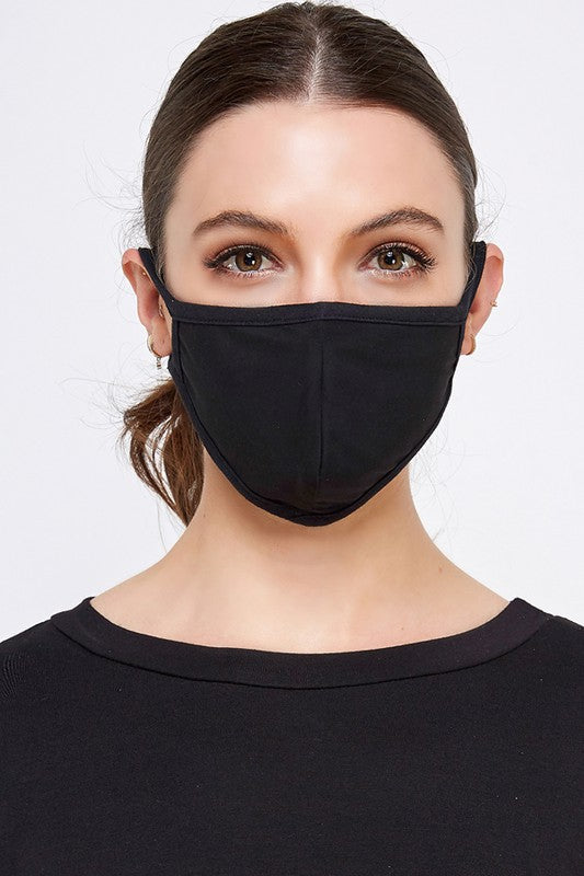 Fashion Face Mask (Black)