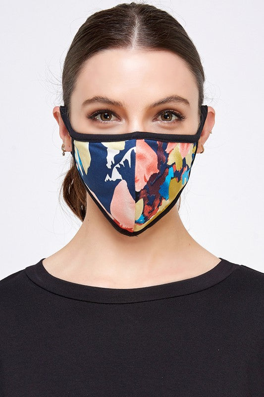 Fashion Face Mask (Blue Multi)