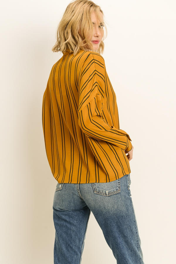 """The Millennial"" Long Sleeve Blouse"