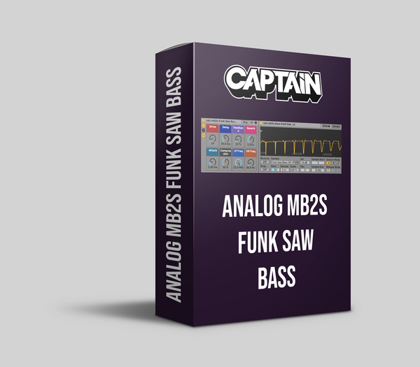 Analog Funk Saw Bass Instrument Pack (10.1.6+)