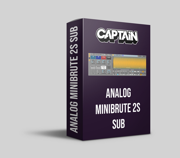 Analog Minibrute 2S Sub Instruments Pack (10.1.6+)
