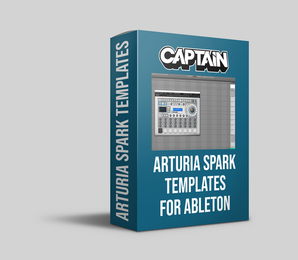 Arturia Spark Drum Rack & Channel Group (Ableton 10.1.5+)