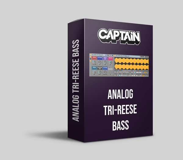 Analog Tri-Reese Bass Instrument Pack (10.1.6+)