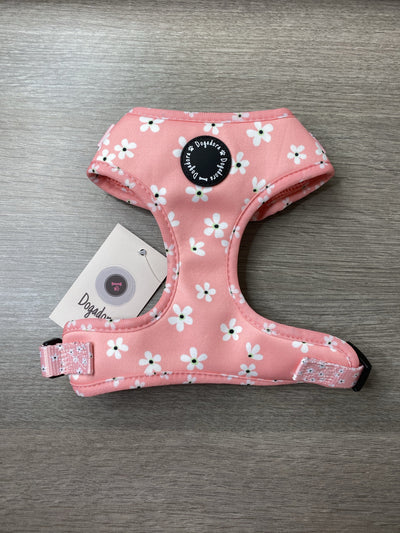 Dogadora Pink Blossom adjustable dog harness