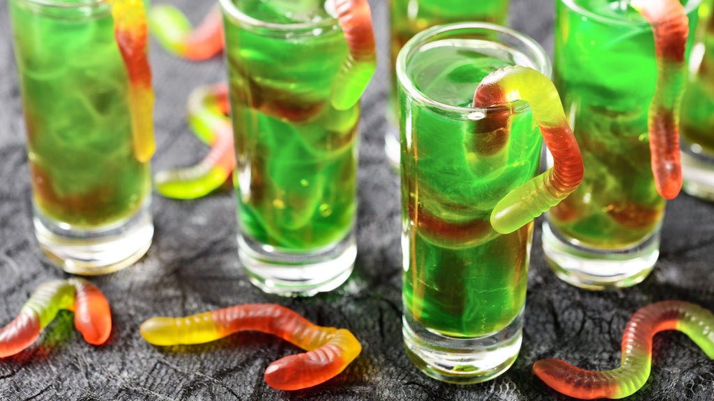 Quench your thirst with this slimy worm juice.