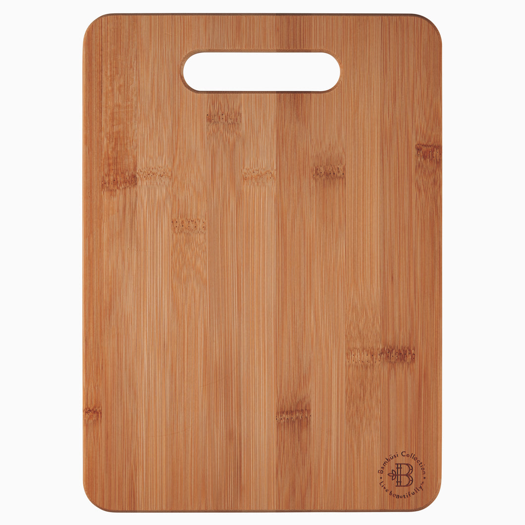 Bamboo Cutting and Chopping Board with Handle