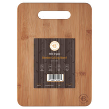 Load image into Gallery viewer, Bamboo Cutting and Chopping Board with Handle