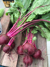 Load image into Gallery viewer, Fresh Beets with Tops (bunch)
