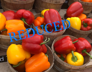 REDUCED TO SELL- various produce