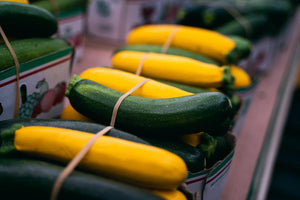 Zucchini (green and/or yellow mix)- 3lbs