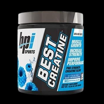 BPI SPORTS BEST CREATINE ICY BLUE RAZ (50 servicios)