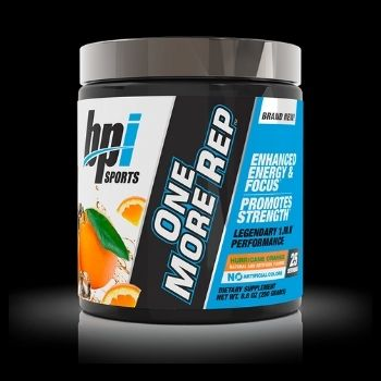 BPI SPORTS ONE MORE REP HURRICANE ORANGE (25 servicios)