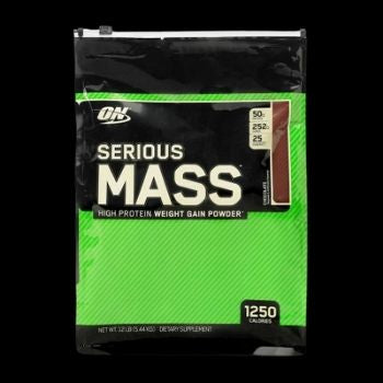 ON SERIOUS MASS (12 LBS) CHOCOLATE