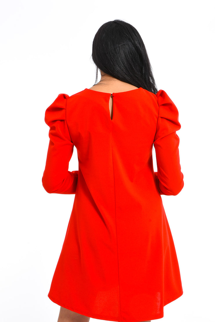 ROBE LARGE ROUGE