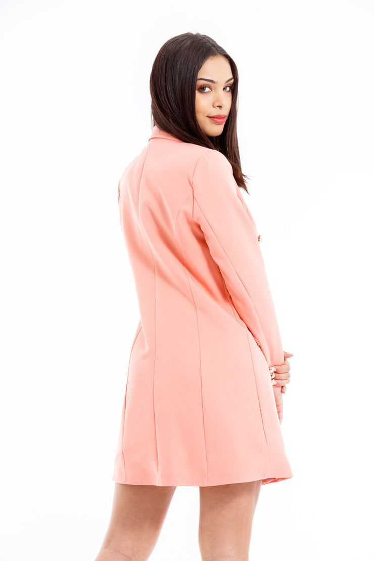 ROBE BLAZER ROSE